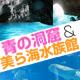 ถ้ำ & Churaumi Aquarium สีฟ้า